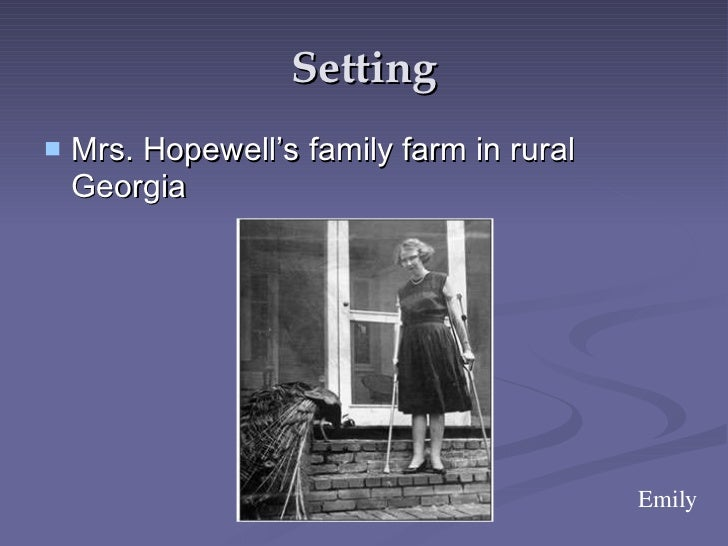 interpretation of good country people by The story begins with a description of mrs freeman, specifically concerning her interactions with mrs hopewell she has been working for mrs hopewell for four.