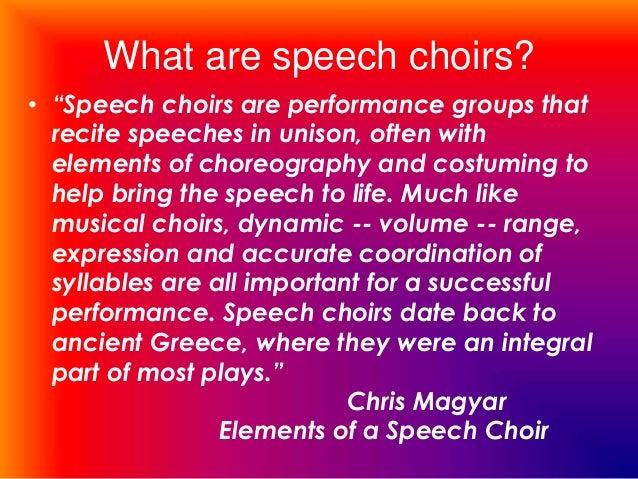 Why singing in a school choir is pure joy