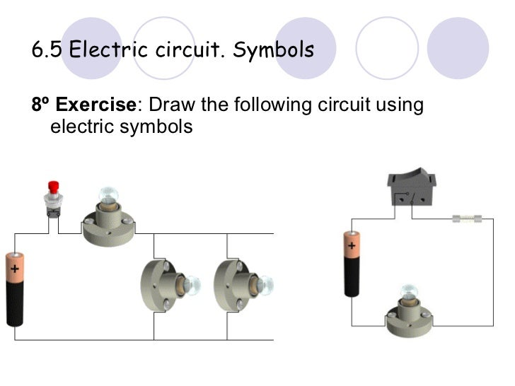 3 eso electricity rh slideshare net  schematic diagram exercises