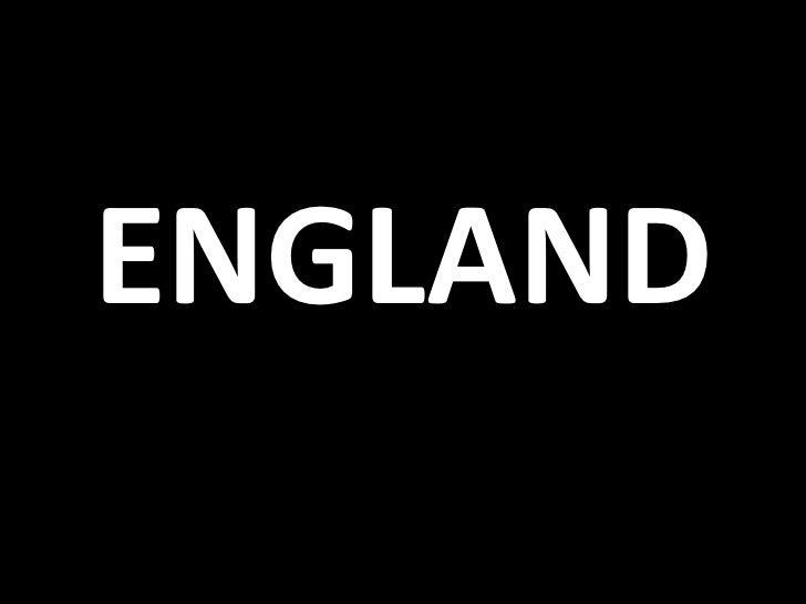 ENGLAND<br />