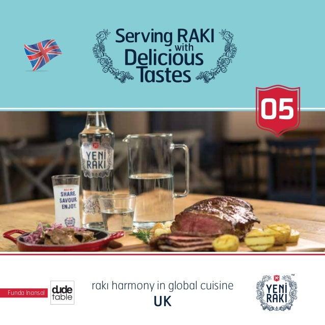 Funda Inansal rakı harmony in global cuisine UK 05