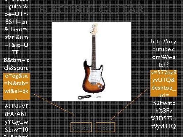 q=electic+guitar&oe=UTF-     ELECTRIC GUITAR 8&hl=en&client=safari&um                                http://m.y=1&ie=U    ...