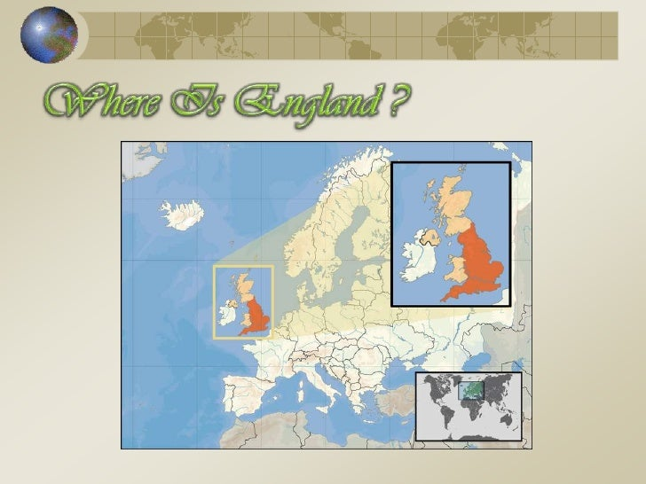 Where Is England ?<br />