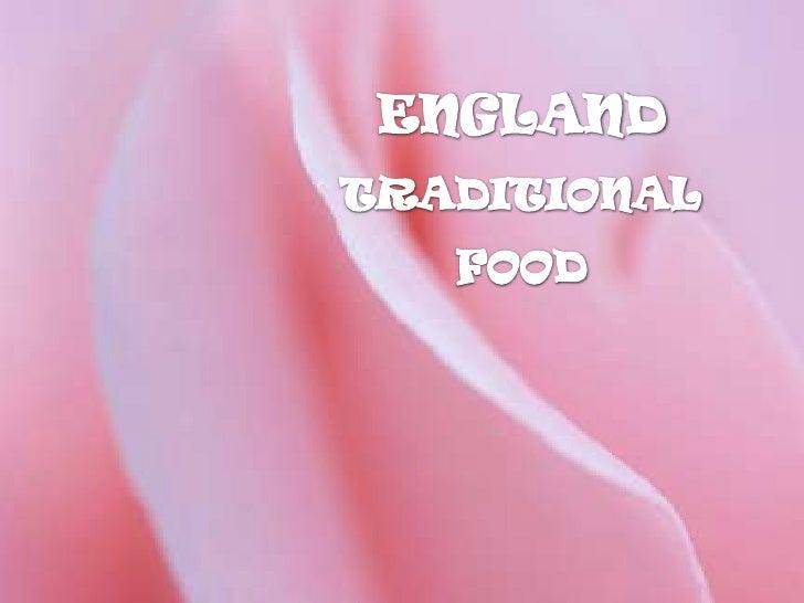 England traditional food Slide 2