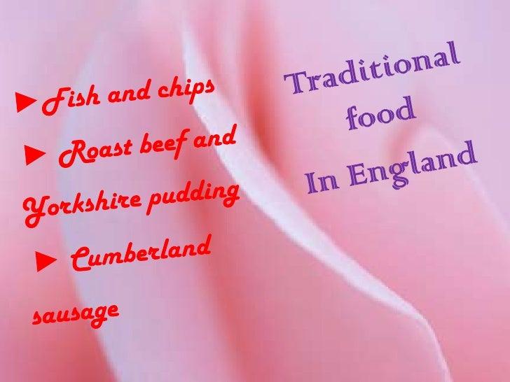 England traditional food Slide 3