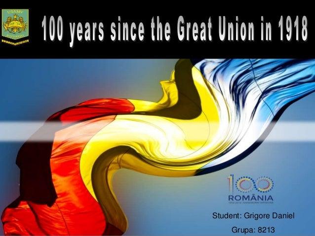 Student: Grigore Daniel Grupa: 8213