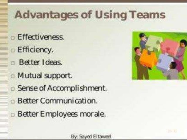 the importance of teamwork in business Teamworking skills exercise on team working skills the roles people play in meetings what makes an effective team tips for group work exercises in selection centres.