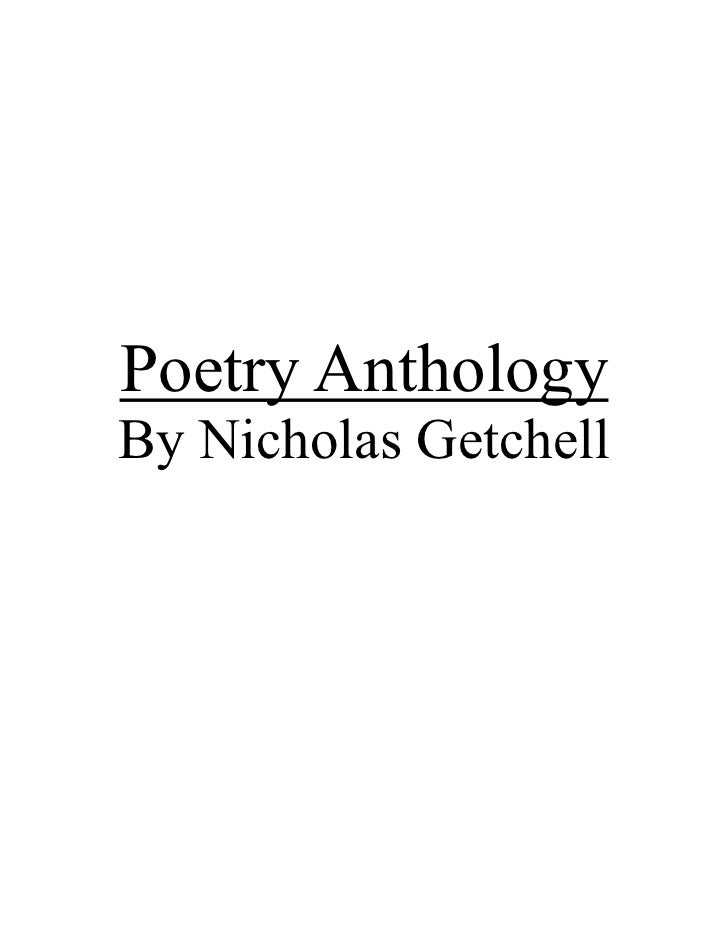 Poetry AnthologyBy Nicholas Getchell