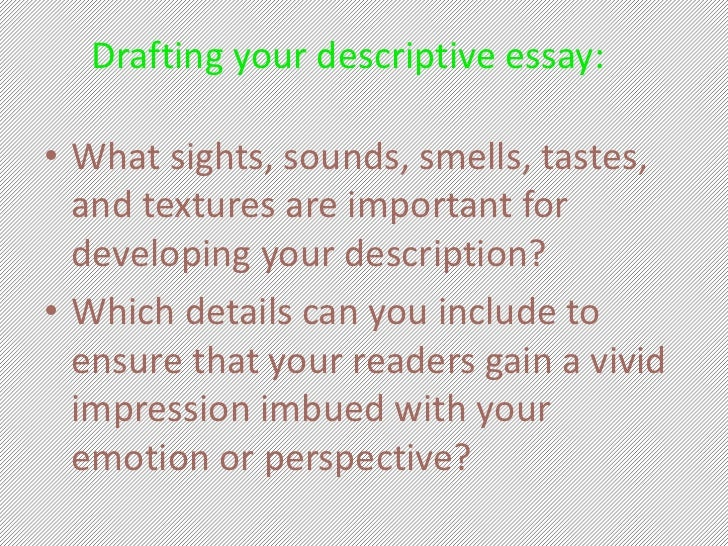 Descriptive essay outline LibGuides   Manchester University ffa officer introductions to essays