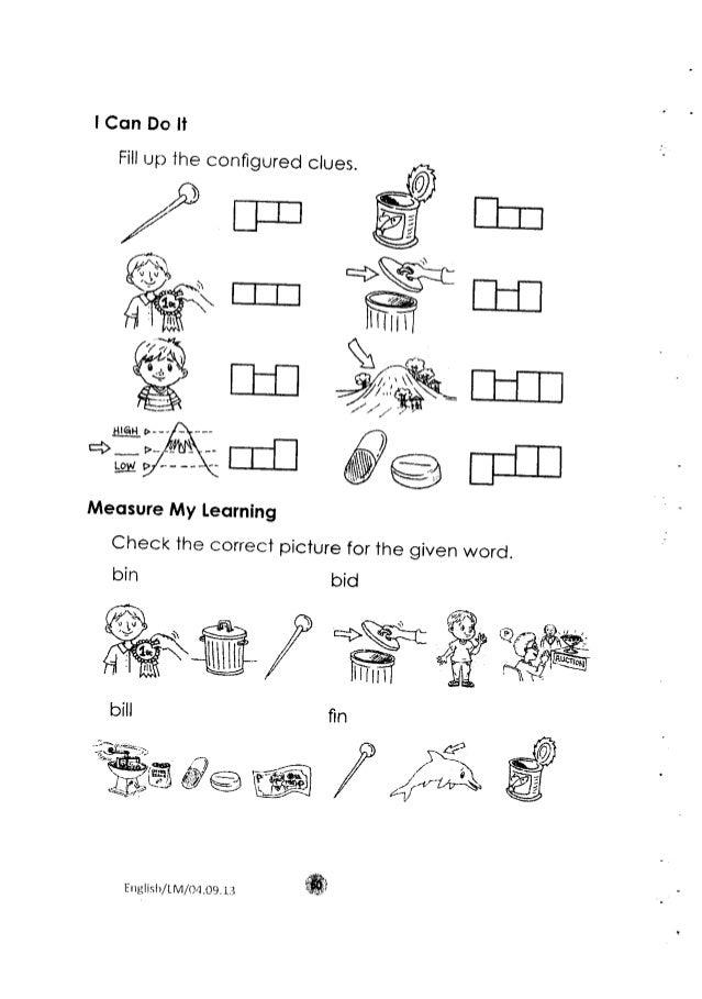 Worksheet For Grade 2 English Language - Kidz Activities