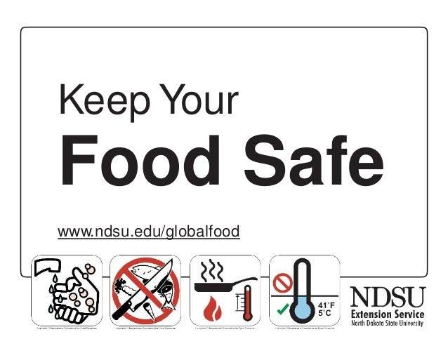 Keep Your Food Safe - English