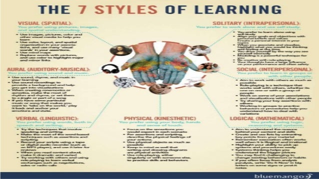 THE VISUAL STYLE • People who learn best through visual aids have a visual learning style • Visual aids include facial exp...