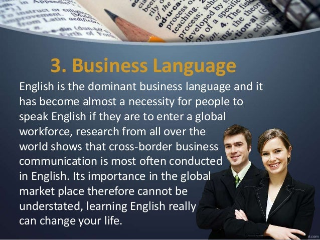 importance of english in business pdf