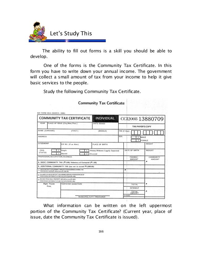 English 6-dlp-65-filling-out-community-tax-certificate