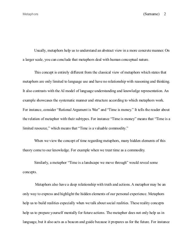 English Classic Literature Essay Sample Mla