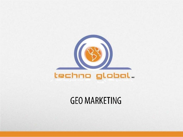 The Geomarketing technology gives enterprises the possibility to obtain a register, in real time, of sociodemographic chan...
