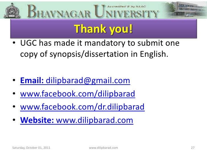 dissertation in english language