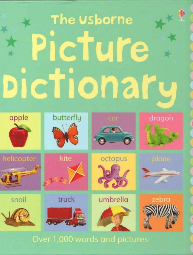english picture dictionary pdf free download