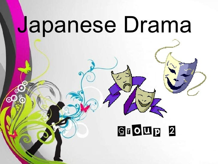 Free Powerpoint Templates Japanese Drama Group 2