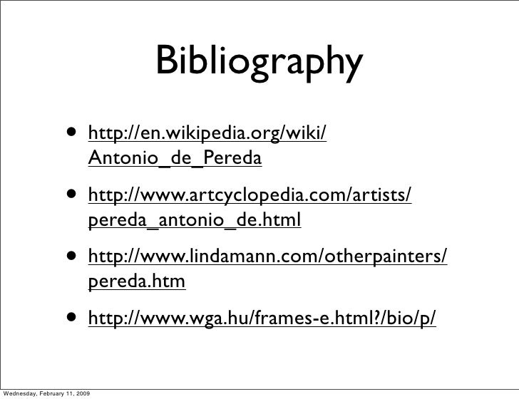 Writing a Bibliography: APA Format
