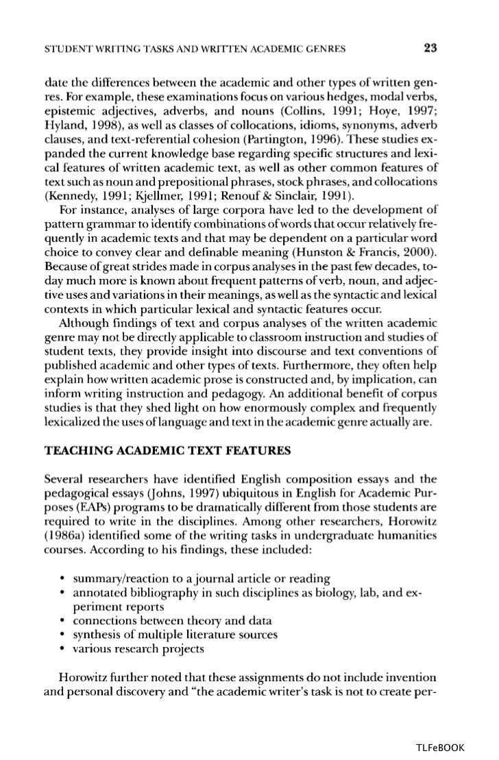 english teaching academic esl writing practical techniques in vocab - Teaching Essay Writing To Esl Students