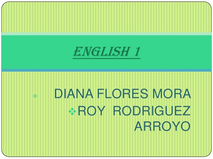 <ul><li>DIANA FLORES MORA