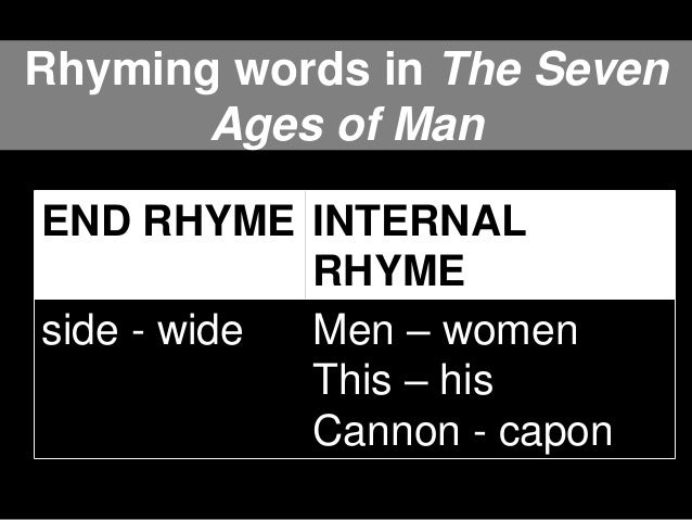English 1 Looking For Rhymes