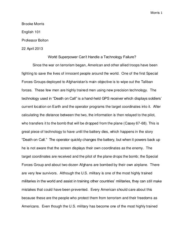 research paper in english