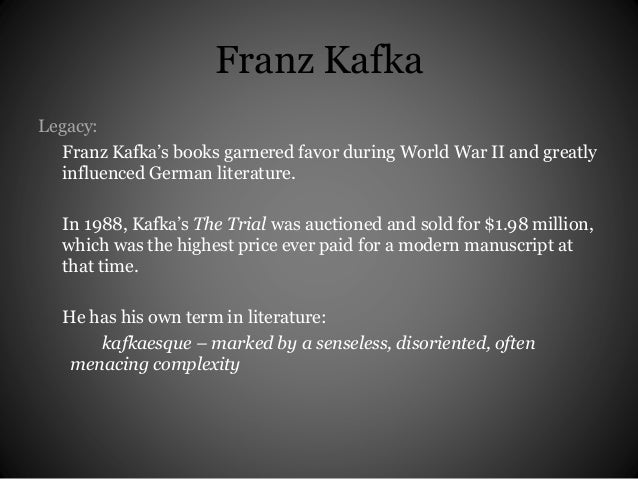 The Women of Kafka   The Trial by Franz Kafka