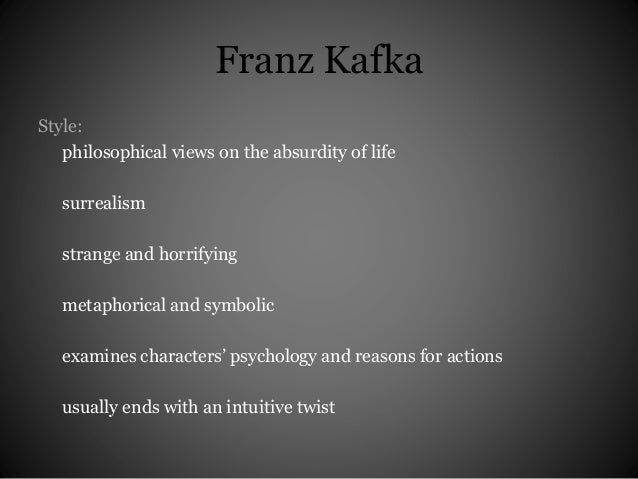 a literary analysis of a hunger artist by franz kafka Franz kafka's a hunger artist (1924) likewise approaches surrealist isolated identity against a specific culture in the short story, an artist starves and locks himself alone in a cage as a public attraction for a privileged european society.