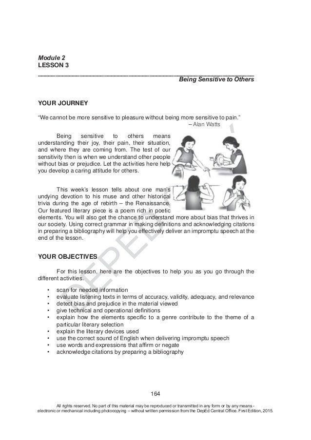 test bias essay