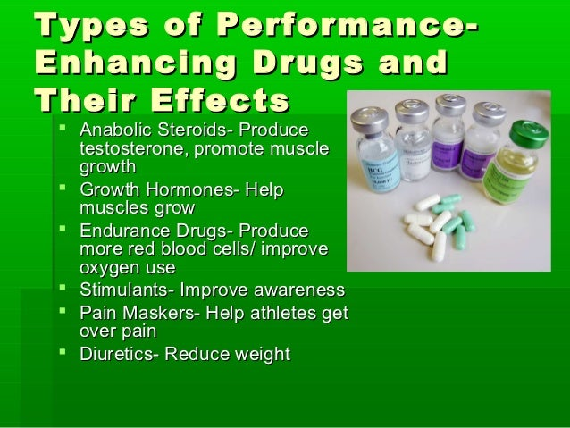cause and effect of performance enhancing drugs The use of performance and appearance enhancing drugs (apeds) in  and can  cause irreversible health effects to the user and offset the physical and.