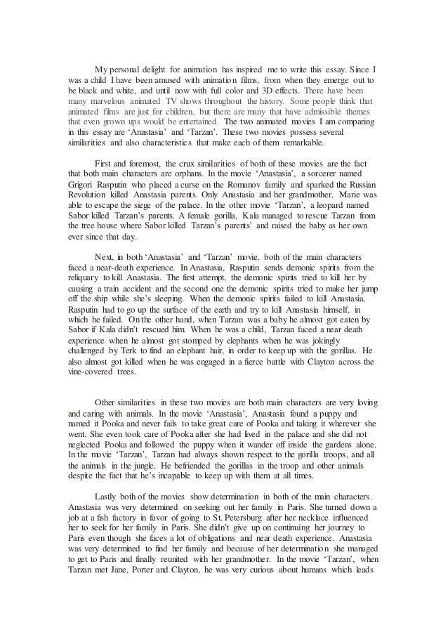 English 2 essay