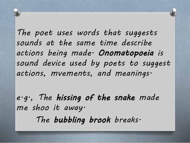 English 2 Onomatopoeia