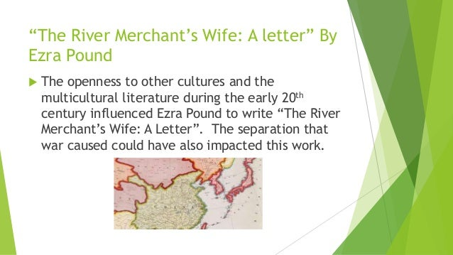 the river merchants wife a letter analysis