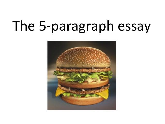 five paragraph essay rap