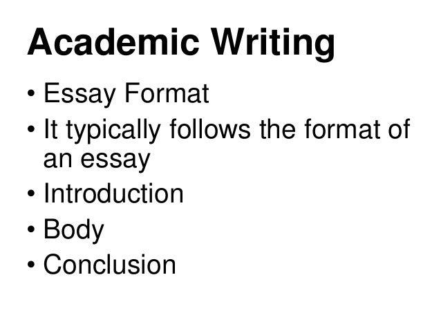 English 7 Academic writing