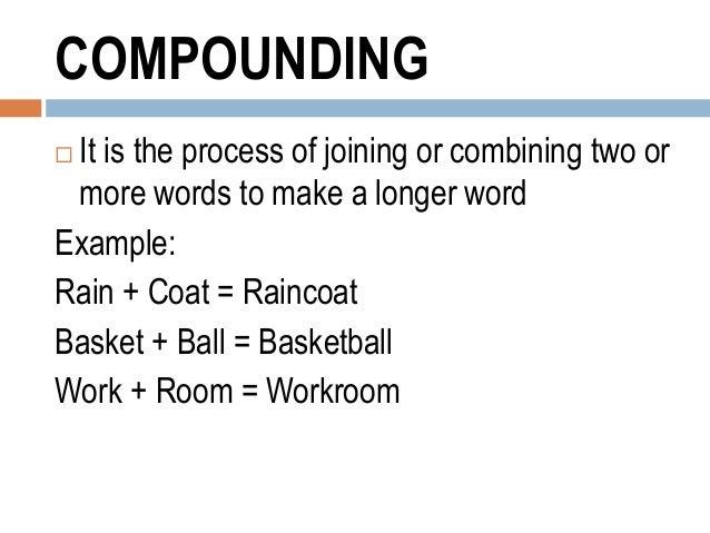 English 9 - Word Formation