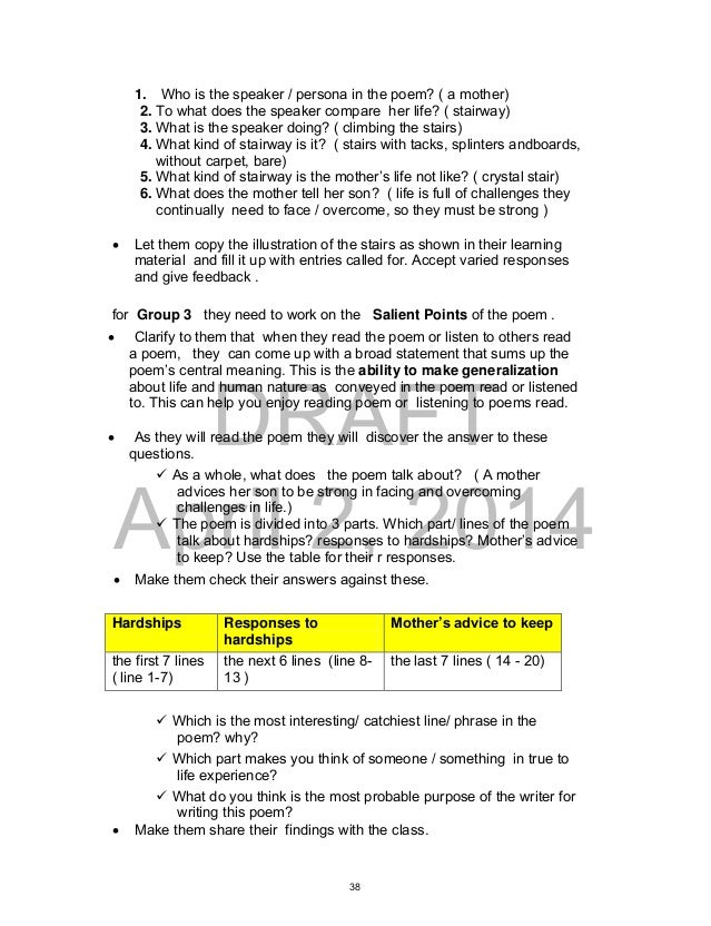 K-12 Teacher's Guide Grade 9