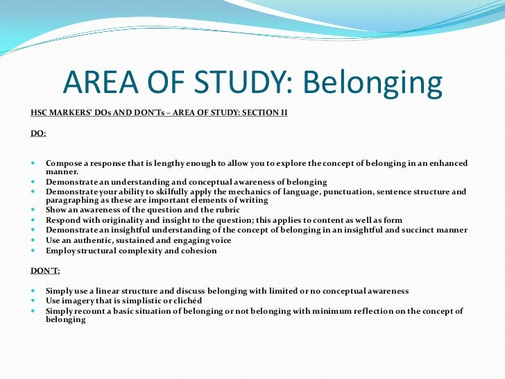 english advanced belonging essay questions Posts about belonging practice questions written by save my hsc sample hsc english essay-belonging advanced english paper two-independent trial 2009.