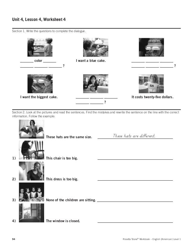 rosetta stone english workbook pdf