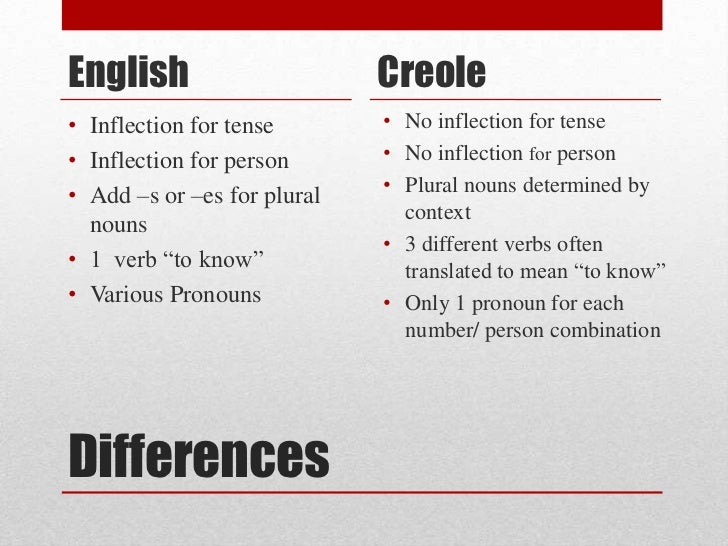 jamaican creole english language