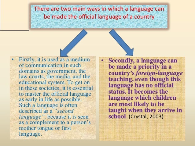 english language s role in every international It is very difficult to translate each and every relevant webpage into the language of various countries the role of english language in globalizing people all over the world cannot be just english is the international language and is one of the most popular and most spoken in the.