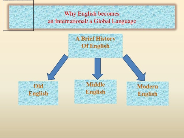 Should English Be The Global Language Essay Example Topics And A Level English  Language Language Change