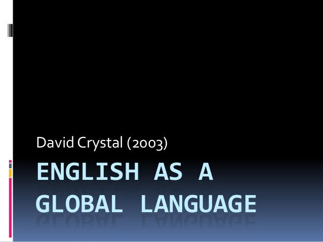 english as the global language essay
