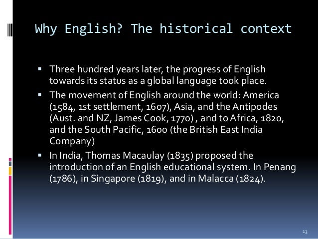English as a global language grace