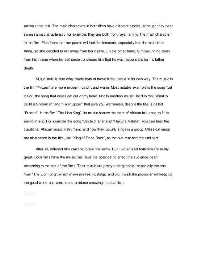 Music Compare And Contrast Essay Example - image 8