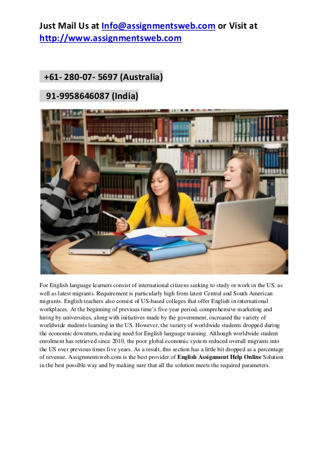English 3 homework help