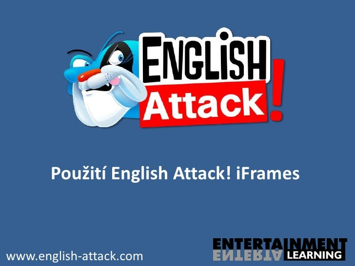 Použití English Attack! iFrameswww.english-attack.com