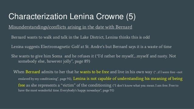 brave new world lenina and john relationship with jesus